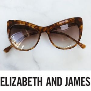Elizabeth & James Lafayette Tortoise Sunglasses